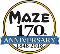 Maze Nails 170 Year Anniversary Logo