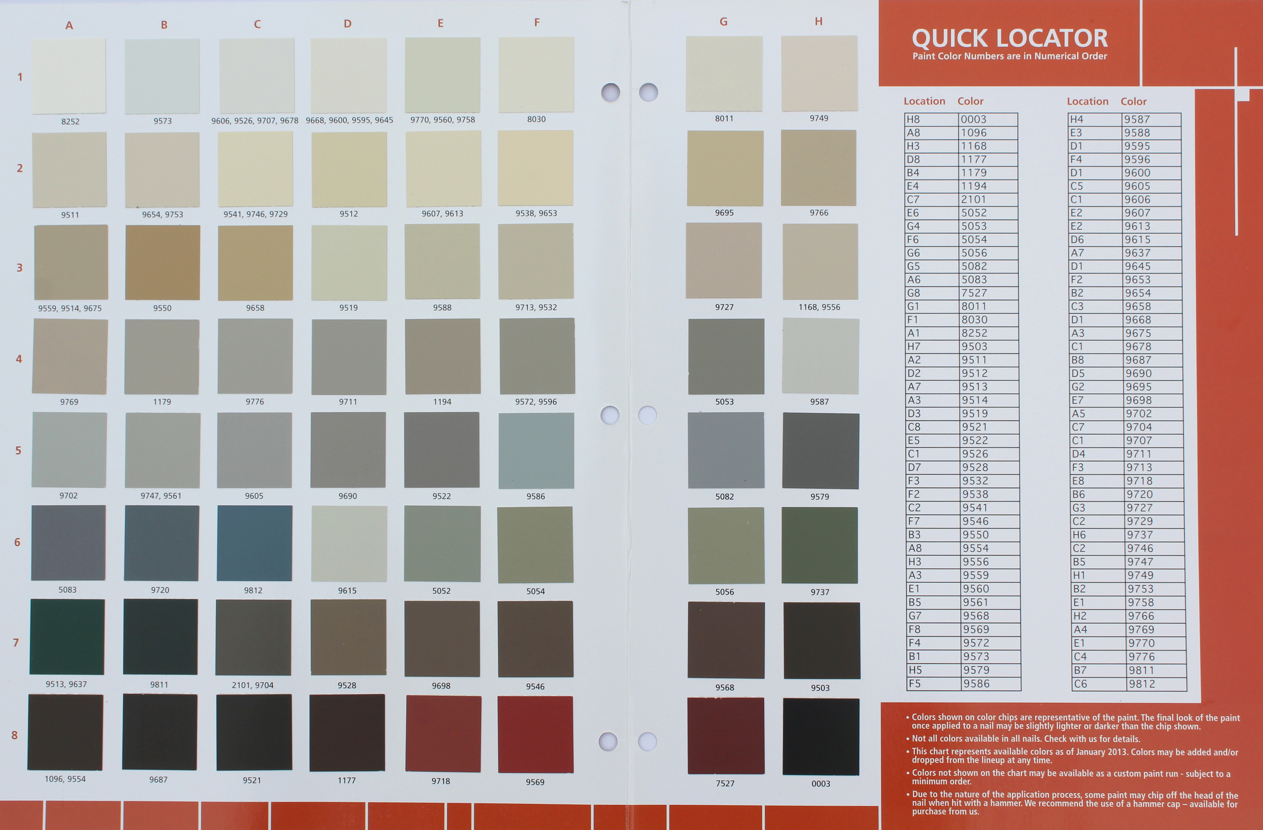 Kaycan Vinyl Siding Color Chart Vinyl Siding