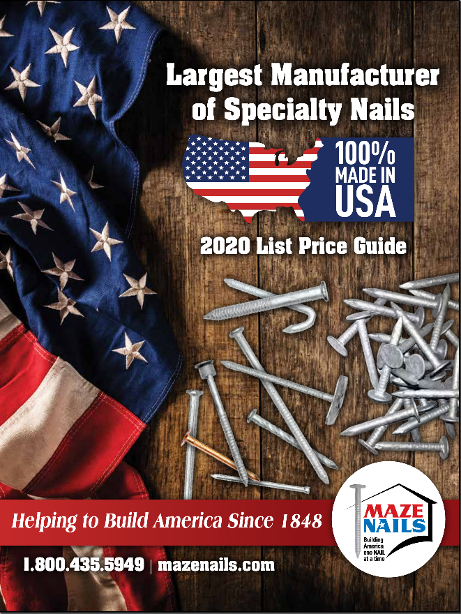 Maze Nails Catalog & List Price Guide