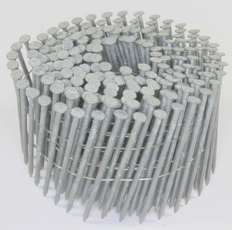 15° Hot-Dip Galvanized Fiber Cement Siding Nails for Poly-Ash Trim