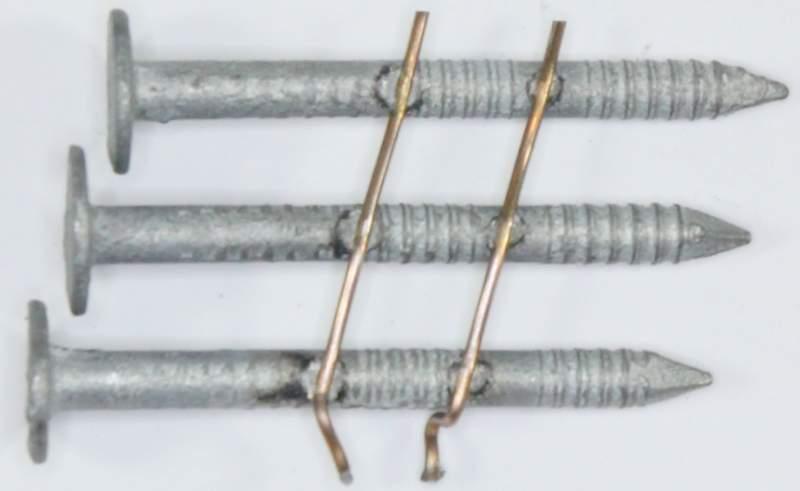 15 176 Hot Dip Galvanized Ring Shank Roofing Nails Asphalt