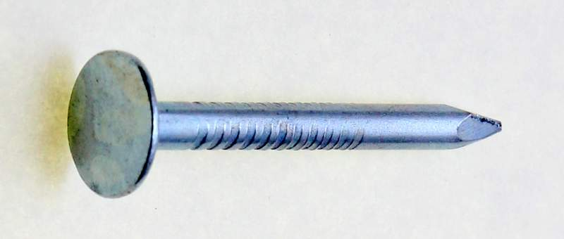 Zinc-Plated Plain Shank Roofing Nails