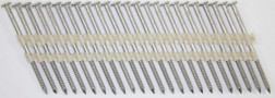 20° Stainless Steel (316) Ring Shank Siding Nails