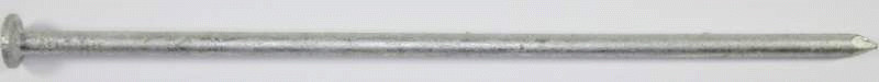 Hot-Dip Galvanized Plain Shank Gutter Spikes